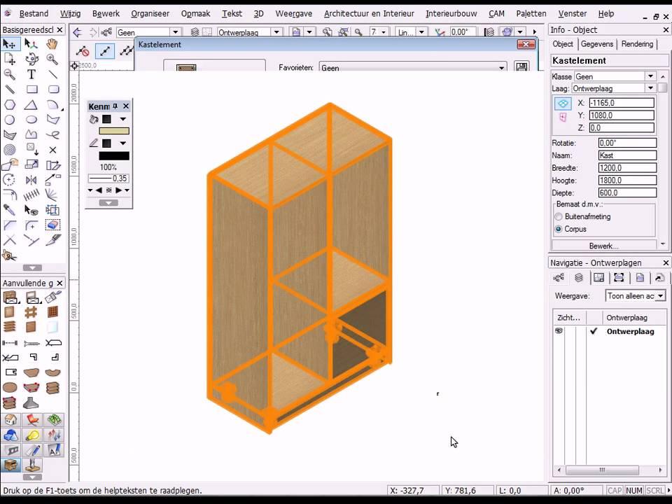 Vectorworks Voor Interieurbouw Deel 1