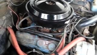 1976 Buick 350 engine running