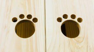 50개 이상 수납 가능한 고양이 장난감 수납장 만들기 …