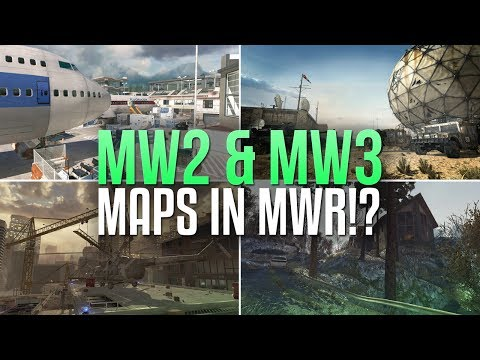 MW2 & MW3 Maps in MWR!? (Possible Regroup Map Pack DLC & Discussion)