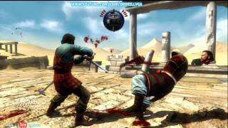 Deadliest Warrior Legends Slice Mode HD 720p