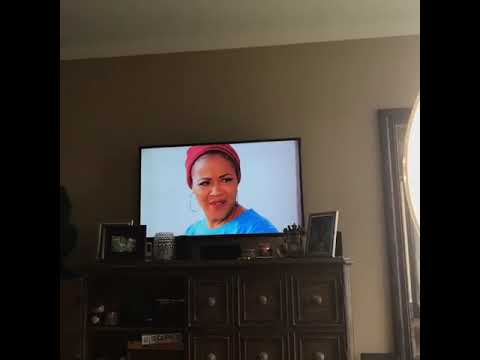 Erica Campbell Watching A Powerful Scene From