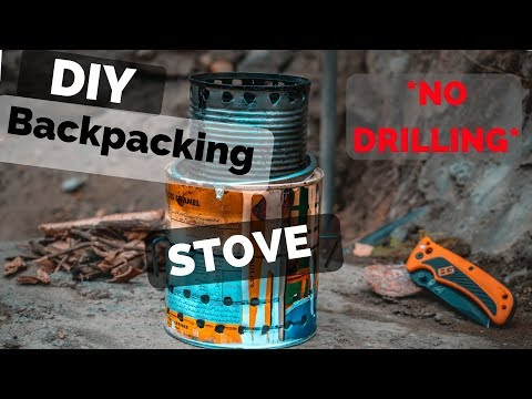 DIY Wood Gasifier Stove *NO DRILLING REQUIRED*
