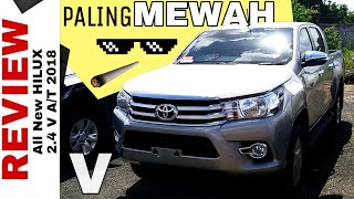 HILUX PALING MEWAH - Review Hilux V 2018 Toyota Indonesia