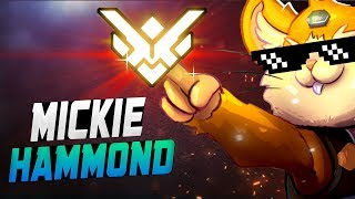 MICKIE ROAD TO GM! PRO HAMMOND! [ OVERWATCH SEASON 11 TOP 500 ]
