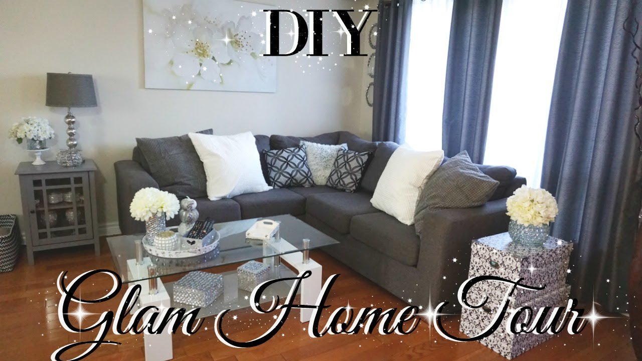 DOLLAR TREE DIY GLAM HOME TOUR DIY FALL HOME TOUR 2017