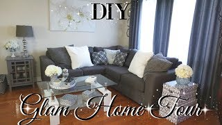 DOLLAR TREE DIY GLAM HOME TOUR 💎DIY FALL HOME TOUR 2017 💎 DIY GLAM ROOM DECOR