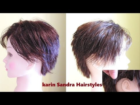 Short Haircut Tutorial for Women 2018