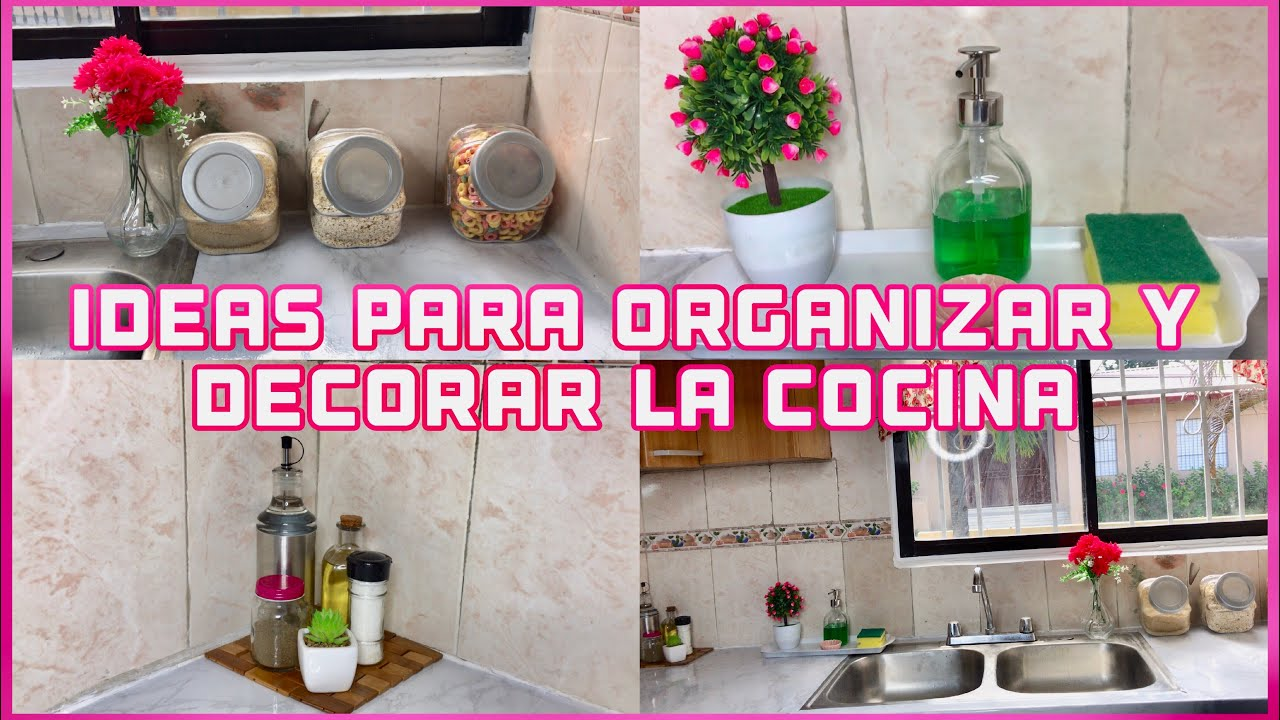 3 ideas para decorar y organizar una cocina peque a for Ideas para decorar cocinas pequenas