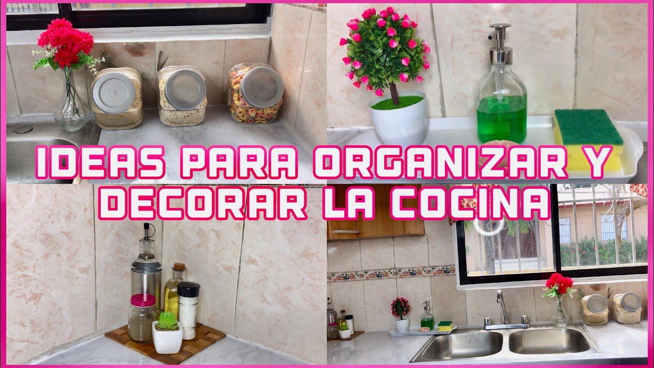 3 ideas para decorar y organizar una cocina peque a for Cocinas modulares economicas
