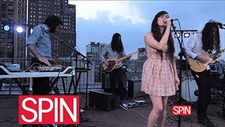 "SPINhouse Live: Cults, ""Go Outside"""