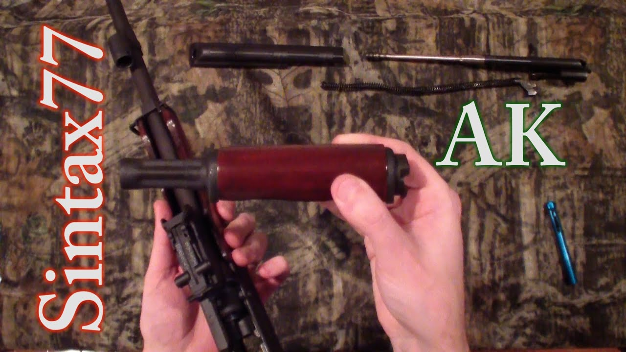AK-47 - Wood Furniture Removal (plus Field Strip & Assembly)