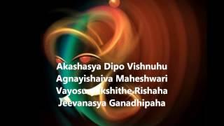 Vakratunda Mahakaaya   Ganesh Mantra!! Full !