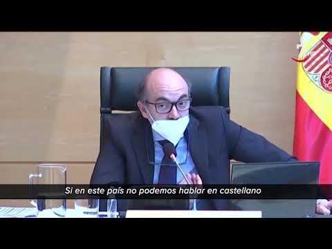 El consejero de Cultura de Castilla y León pide dinero en catalán