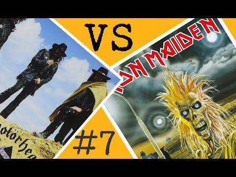 Motörhead VS Iron Maiden - Batalla de los álbumes #7
