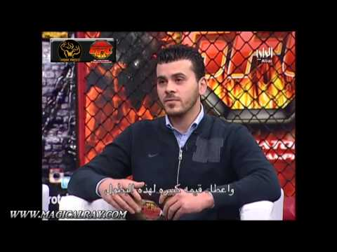 Ray Elbe (Kuwait Combat Athletics) interview on Cable TV in the Middle East (Al Rai)
