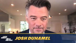 Josh Duhamel Was In Timothy Olyphant's Christmas Card