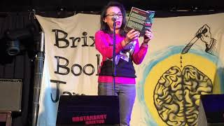 Reading 'live' from Cry of the Flying Rhino @Brixton Book Jam Monday 5 March 2018