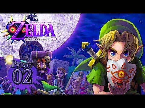 Zelda Majora's Mask 3D (HD) #2 - Templo del Bosque Catarata