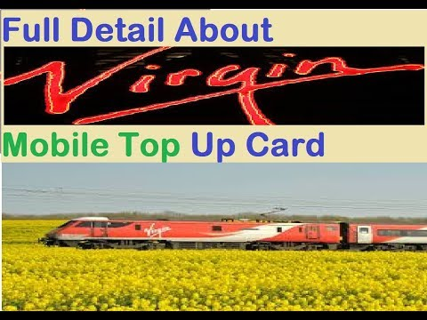 Virgin Mobile Top Up Card || How To Recharge