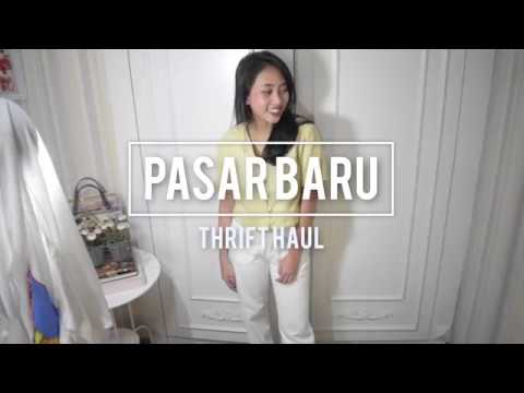 Thrift with Me + Thrift Haul Pasar Baru | FOUND CHAMPION 80k