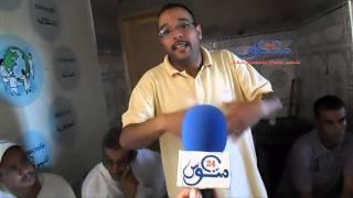فيديو:ابراهيم اومهين متحدثا عن تجربة جمعية تويزي للثقافة و العمل الإنساني بفم ال