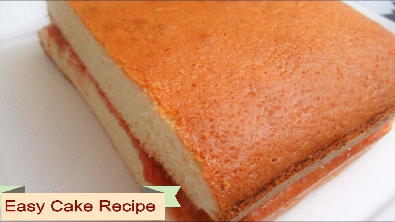 Simple Afghan Cake Recipe