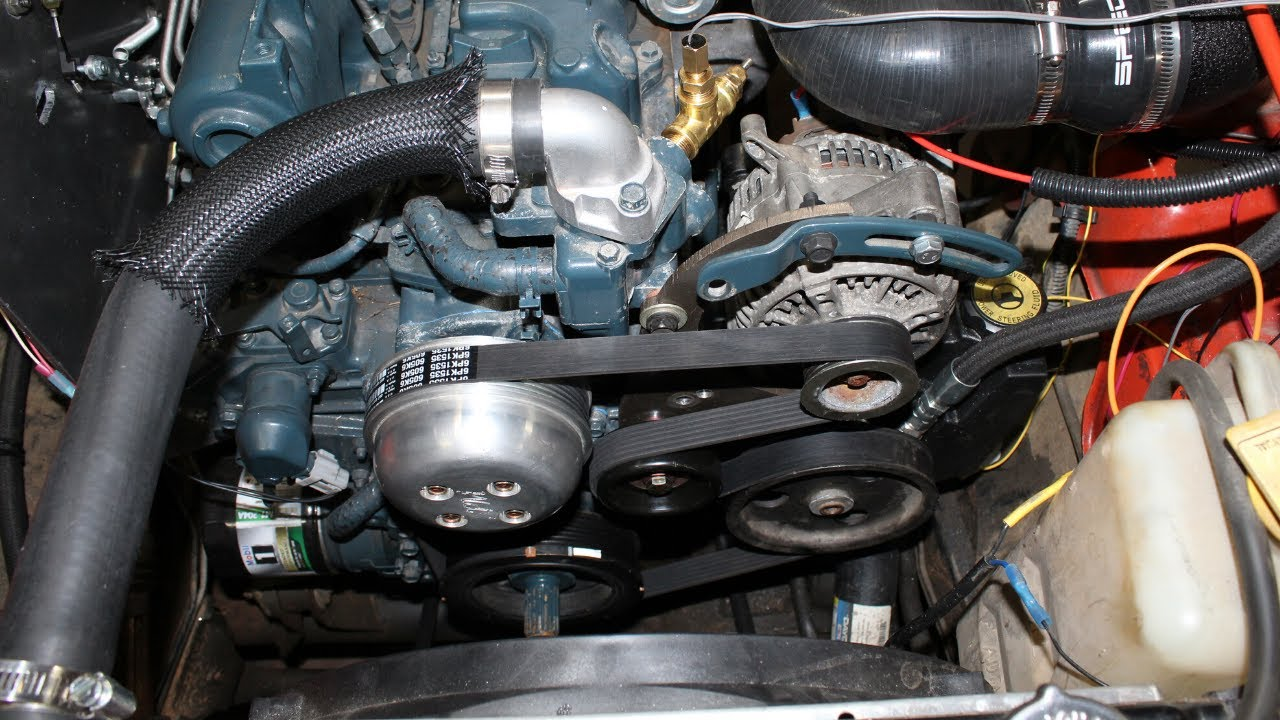 Redesigning The Serpentine Belt System  Diesel Rhd Tj