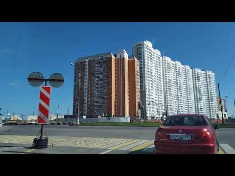 . Москва-Некрасовка-Дзержинский. Поездка на автомобиле по дорогам. 11 августа 2019 г.
