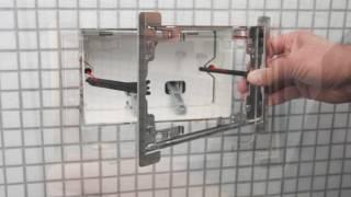 Alca Plast - Instalace tlačítka FLAT