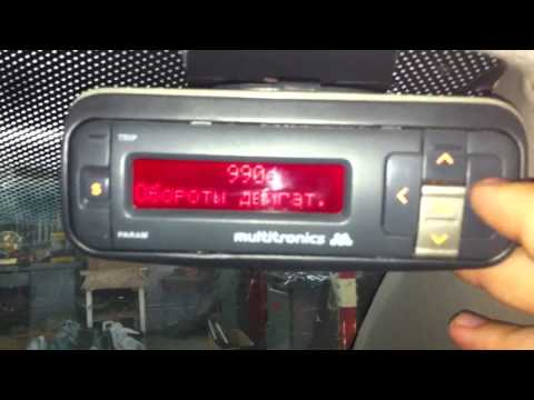 видео: Бортовой компьютер multitronics vg1031upl (dark)
