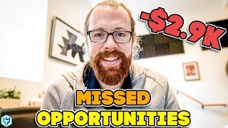 Missed Opportunities -$2.9k | Ross's Trade Recap