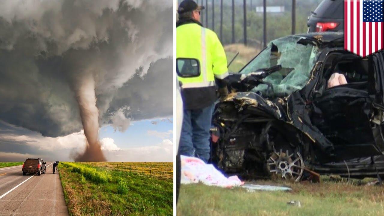 Storm Chasers Car Crash