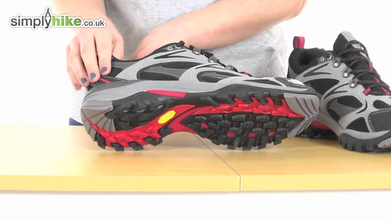north face trail shoes men
