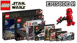 Alle LEGO Star Wars Episode IX Sets! | Bilder & Details | NEWS