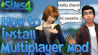 The Sims 4: How to Install Multiplayer Mod (alpha1)