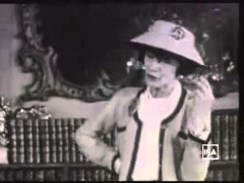 Coco Chanel habla sobre la elegancia (con subtítulos en español)
