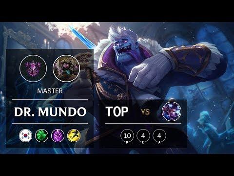 Dr. Mundo Top vs Vayne - KR Master Patch 9.23
