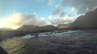 GMIT Castlebar Kayak Club Bring Beginners on the River  Bunduragha 30 10 13