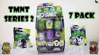 Series 2 Ninja Turtles Ooshies 7 Pack Opening + Blind Bags TMNT | Birdpoo Reviews