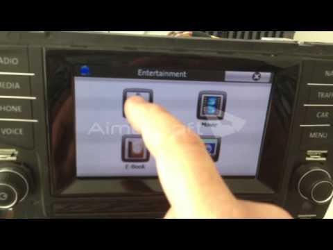 interface gps dynavin para golf vii 7 con pantalla 5 8. Black Bedroom Furniture Sets. Home Design Ideas