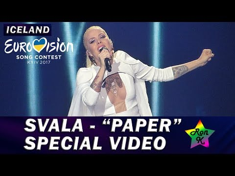 "Svala - ""Paper"" - Special Multicam video - Eurovision 2017 (Iceland)"
