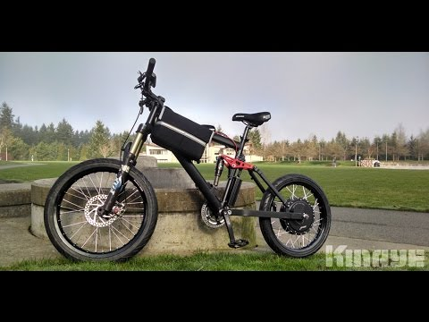 MXUS 3000W Hub Motor on Genesis V2100 50 MPH