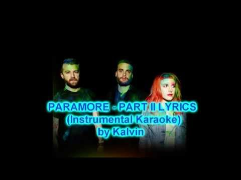 Paramore - Part II Karaoke Cover Instrumental