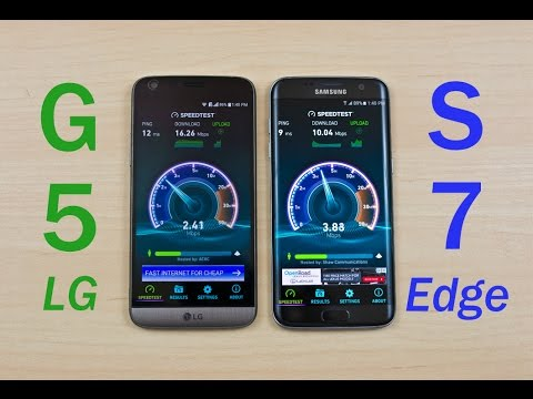 LG G5 vs Samsung Galaxy S7 Edge (Exynos) - Speed Test Comparison Review!