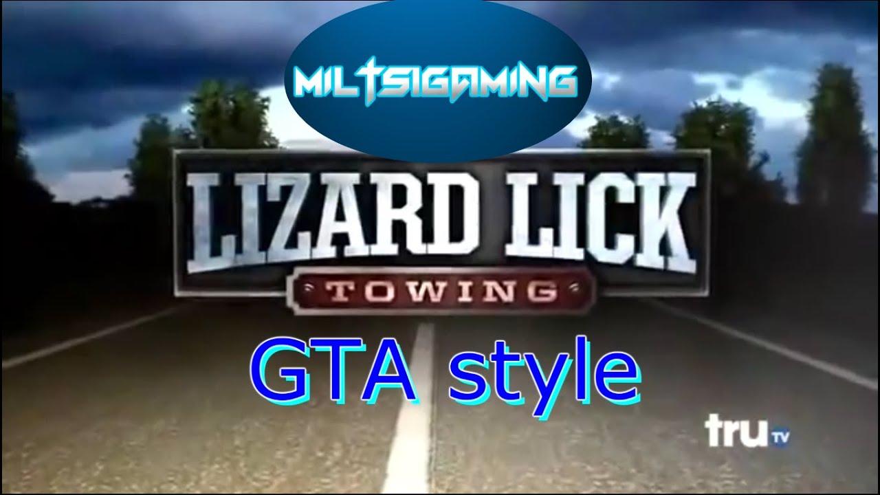 Lizard lick towing games