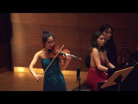 """Verena Chen (陈瑞玲) - Cesar Franck """"Sonate für Violine und Klavier"""" A-Dur Op. 120, 2/4"""
