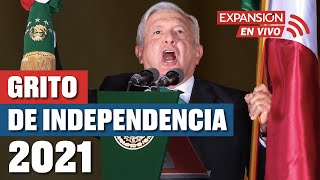 EN VIVO: GRITO de INDEPENDENCIA de MÉXICO 2021 (AMLO)   ÚLTIMAS NOTICIAS