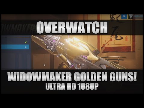 ♕ Overwatch - Widowmaker Golden Guns! - PC Ultra 1080p 60FPS