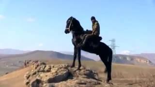 Конный пробег в Малом Карачае  07 03 2016 г